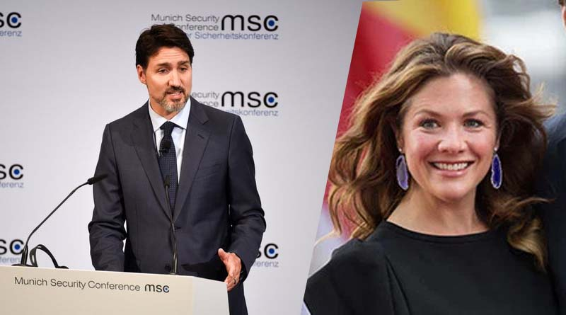 Justin Trudeau in self-isolation after wife tests positive for coronavirus