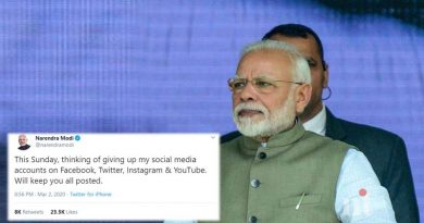 Thinking Of Giving Up Social Media Accounts On Sunday Tweets PM Modi