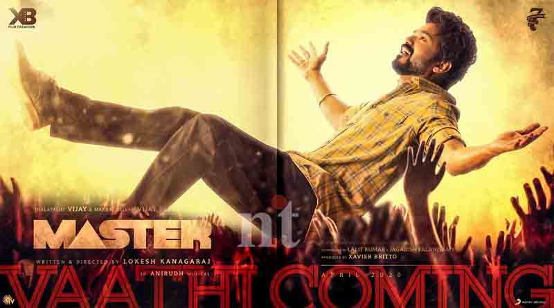 master-second-single-Vaathi-song-Coming-tomorrow