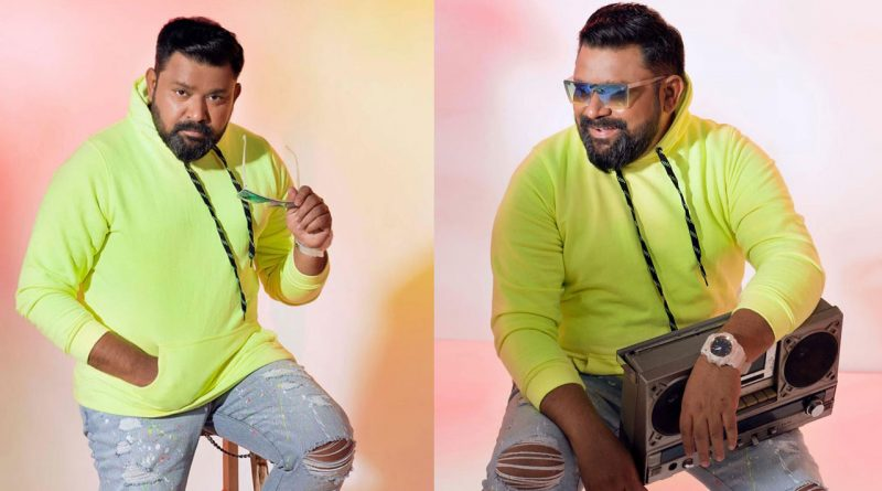 Vijay TV Gopinath latest stylish photo-shoot