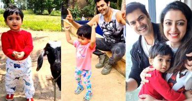 Ganesh Venkatraman daughter samaira cute dance
