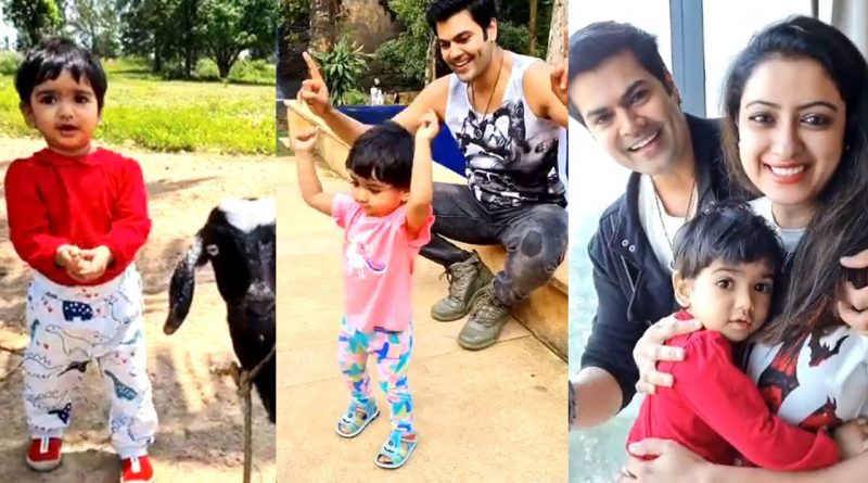 Ganesh Venkatraman daughter samaira cute dance