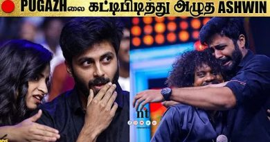 Cooku With Comali - Ashwin cried when Pugazh gets award