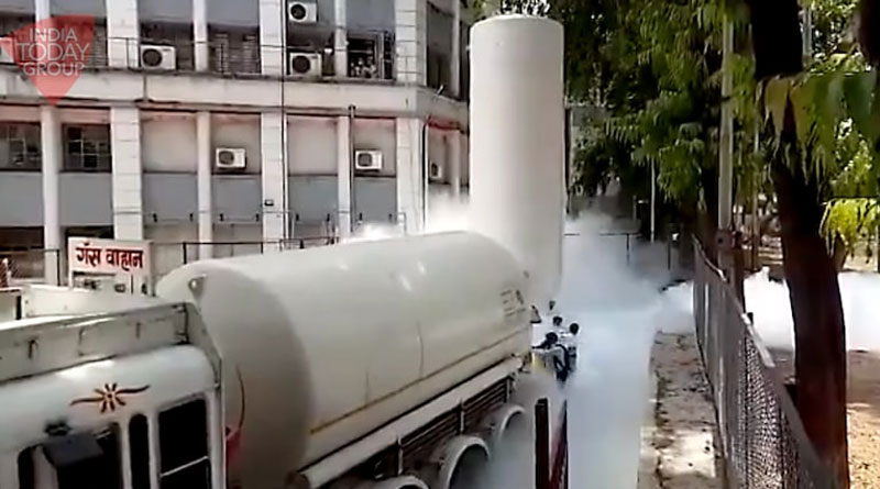 Oxygen tank leaks at Nashik hospital, 22 dead